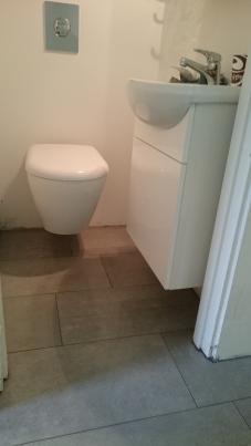 toalett i källare